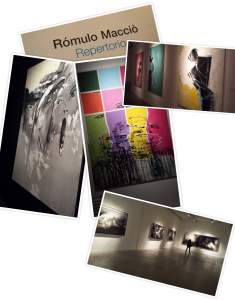 These are just a few pictures I took from the art gallery that I went to. The paintings are from an artist named Romulo Maccio.
