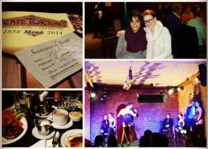 A few pictures from el Cafe Tortoni with my sweet Switzerland friend.