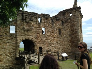 St. Andrews Castle (or rather, what's left of it)