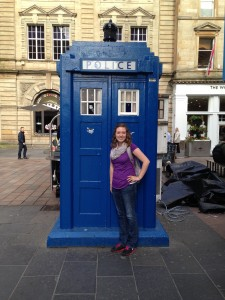 Me with a Police Box!