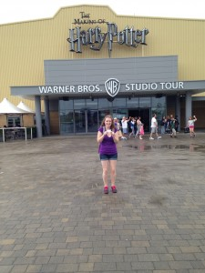 At the studio tour!!