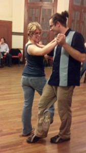 Learning to Tango with my class partner