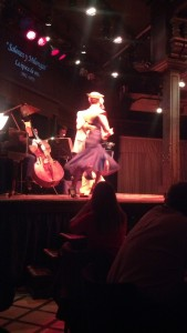 Dinner and a tango show.