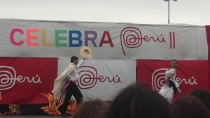 Festival for Peruvian heritage in Rosario Argentina.