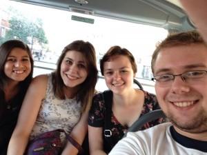 Bus Selfies!