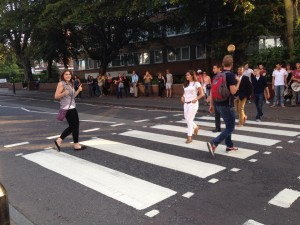 The mythical Abbey Road