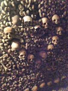 Bones in the Catacombs
