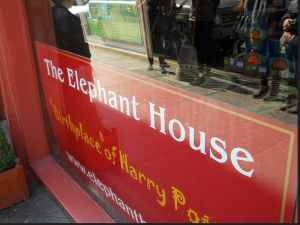 The Elephant House 'Birthplace of Harry Potter'