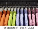 Bright colored clothes
