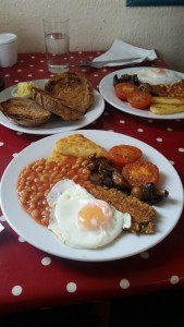Vegetarian English Breakfast- Glastonbury