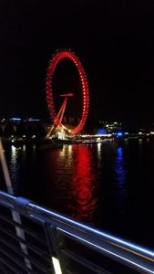 The London Eye- At Night