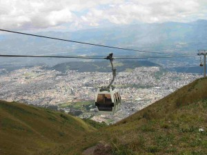 146 teleferico above Quito