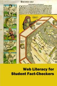 Web Literacy's book cover--images are unclear